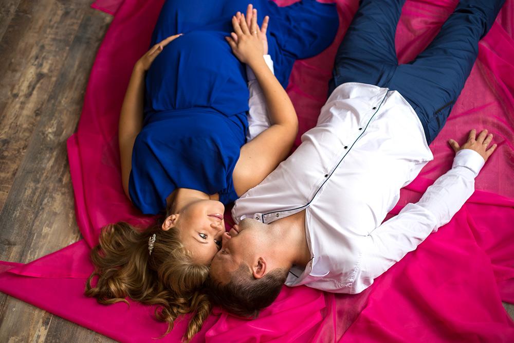 Катя и Лёша в ожидании малыша