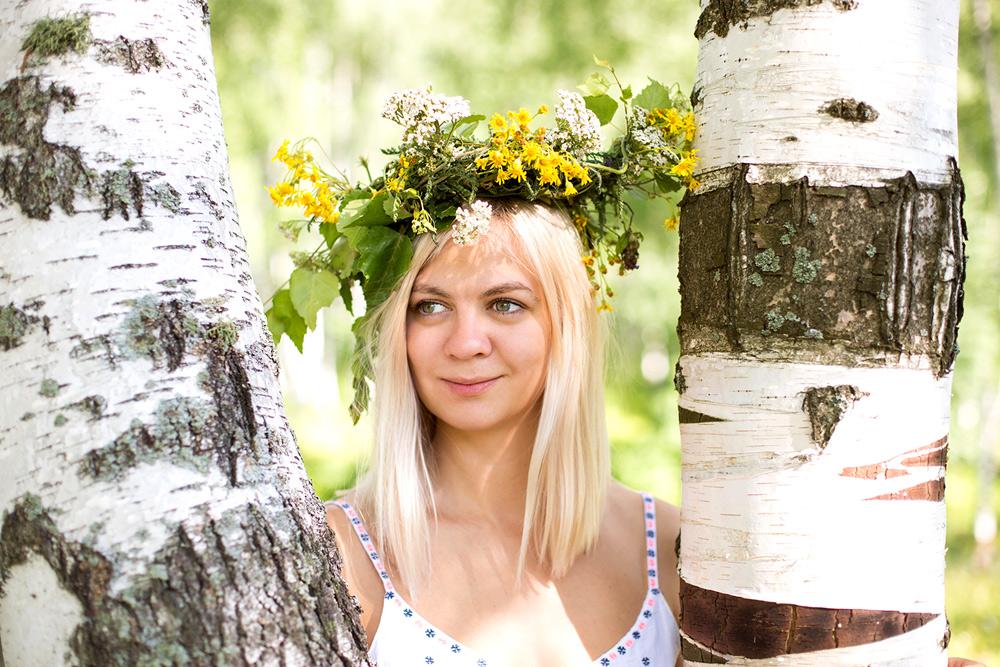 Ольга. Индивидуальная фотосессия на природе