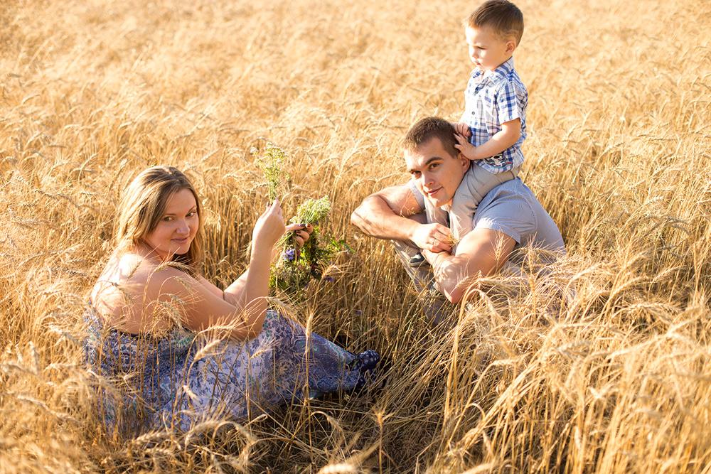Семья Выдриных
