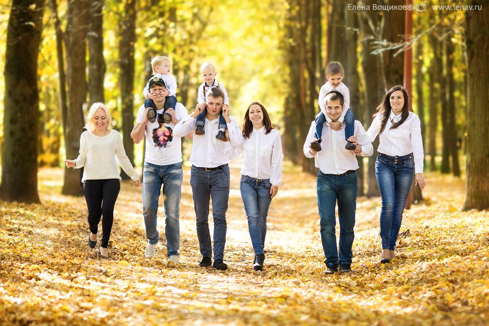 Семейная фотосессия в Швейцарии