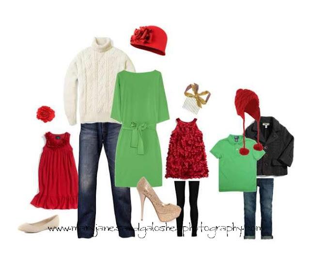 одежда на новогоднюю фотосессию