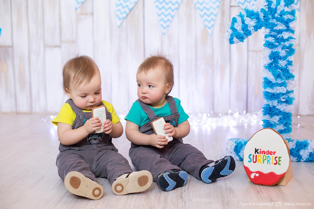 фотосессия на годик ребенка