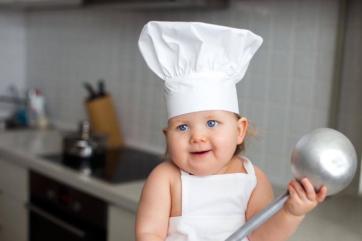 детские тематические съёмки поварёнок