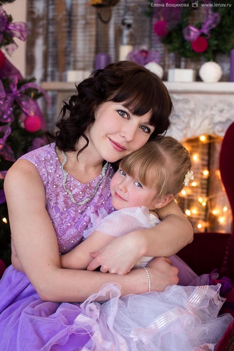 мама и дочка фотосессия