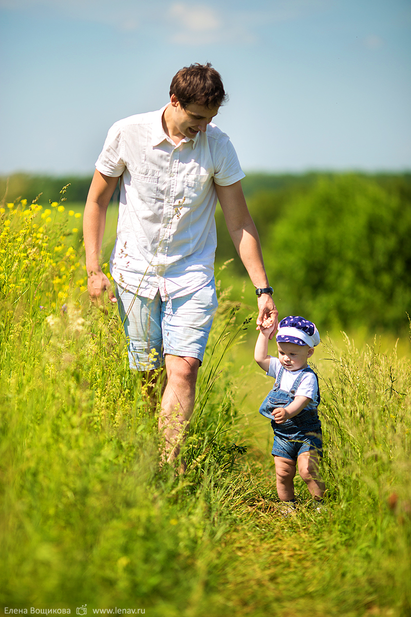 семейная фотосессия на природе нижний новгород лето в деревне