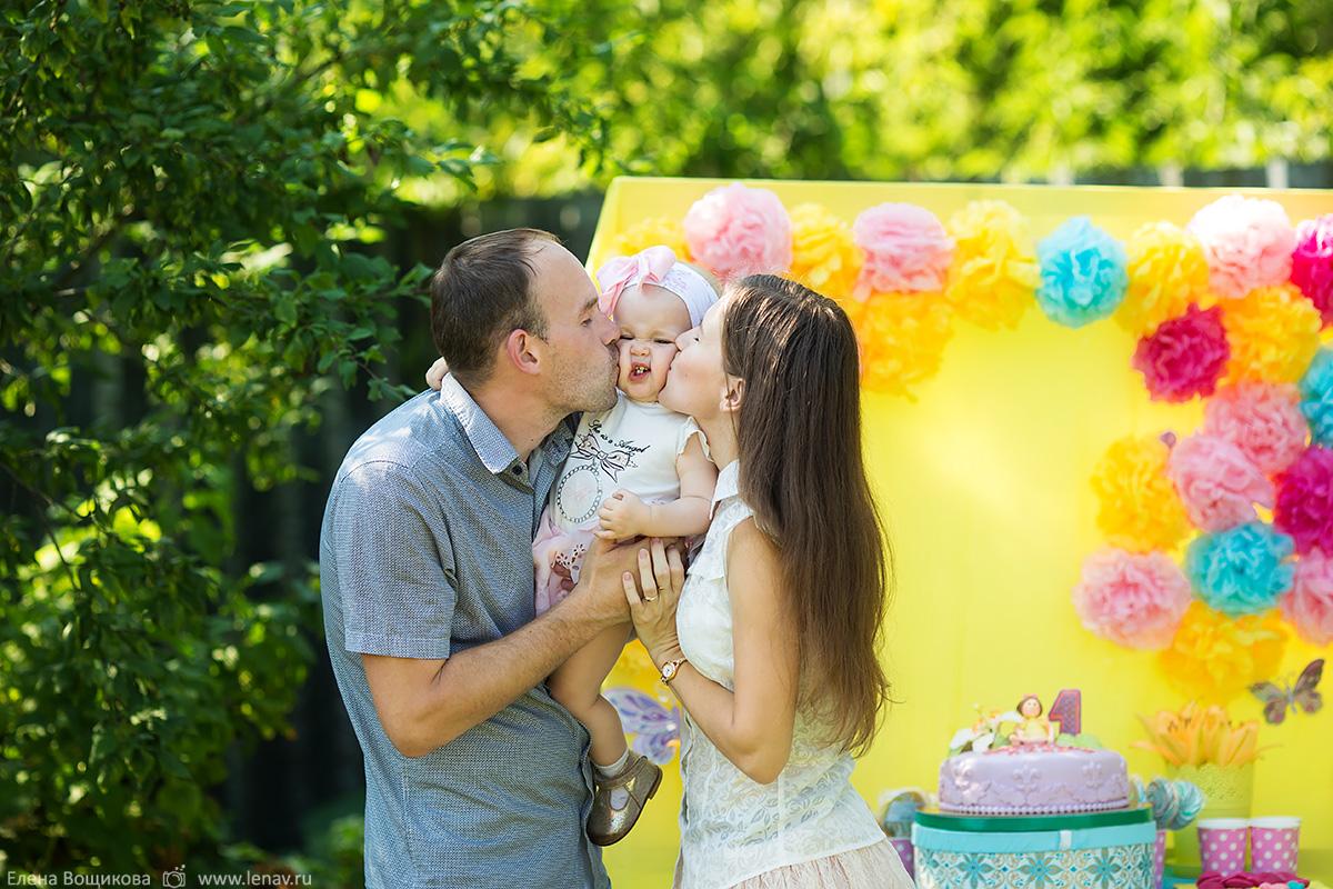 фотосессия на годик день рождения детский