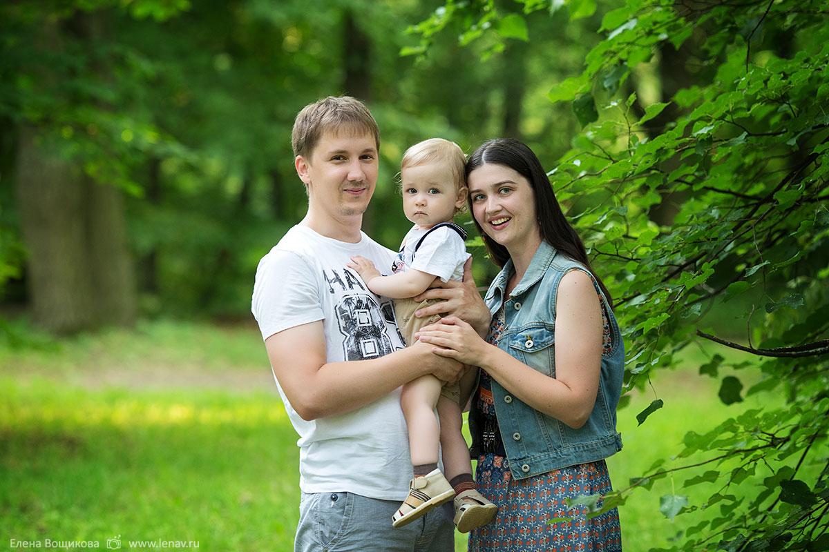 семейная фотосессия фотограф в нижнем новгороде в парке