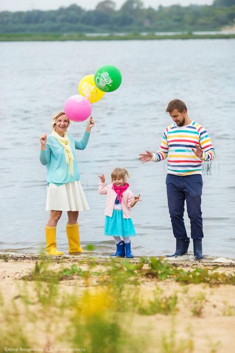 семейная фотосессия детский день рождения фотограф
