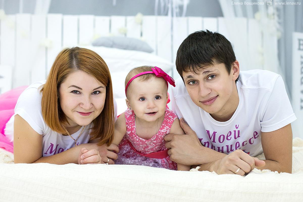 фотосессия на годик девочки фотостудия фотограф семейный
