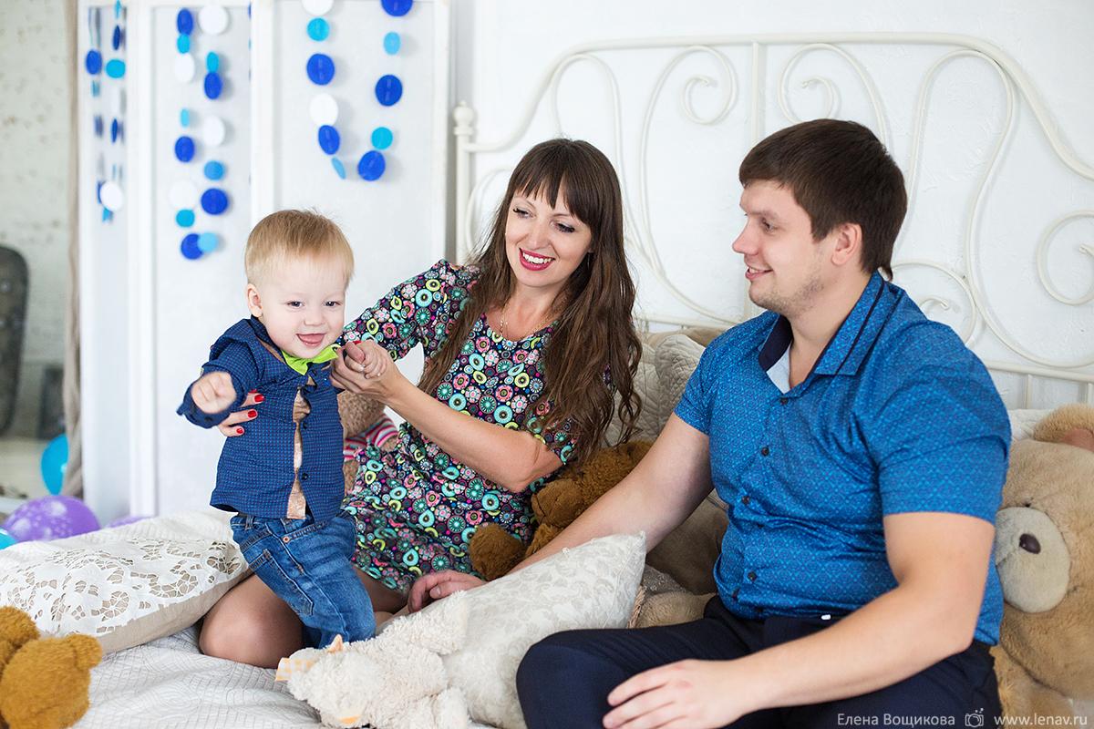 фотосессия на первый день рождения 1 годик в фотостудии