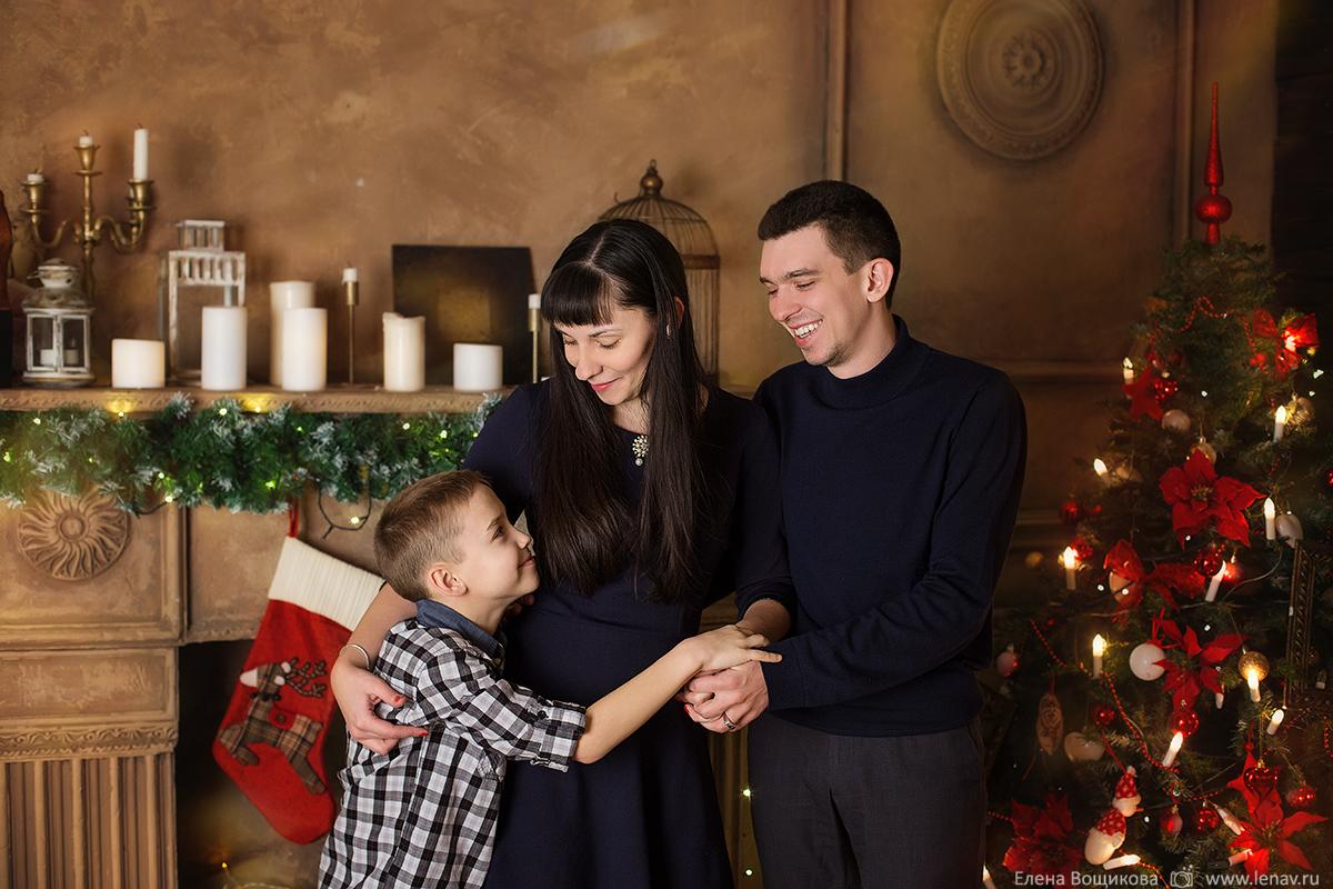 фотосессия зимняя новогодняя в фотостудии нижний новгород