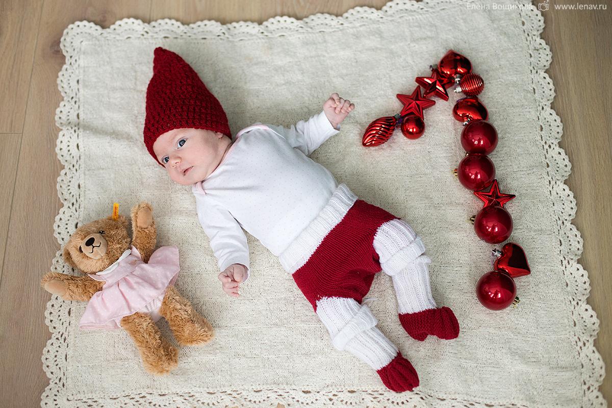 первый год малыша 1 месяц