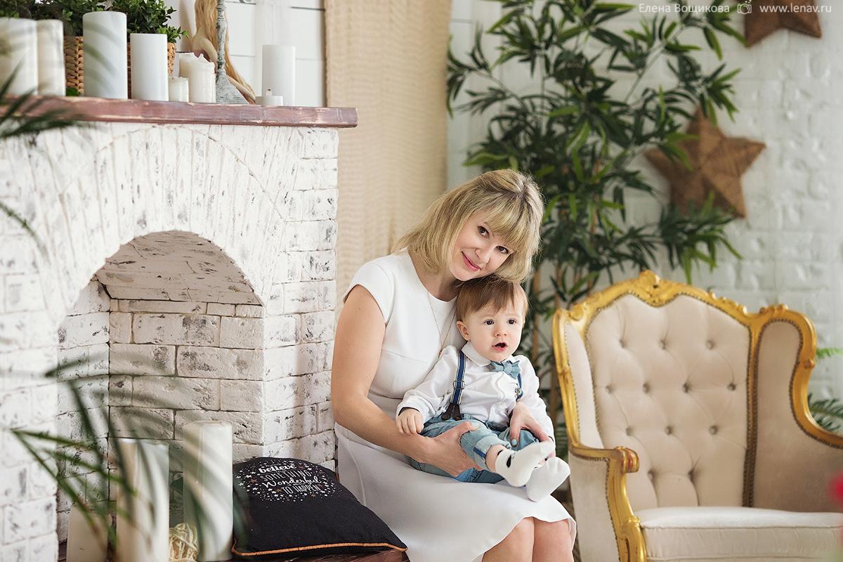 фотосессия на день рождения ребенка 1 годик в студии