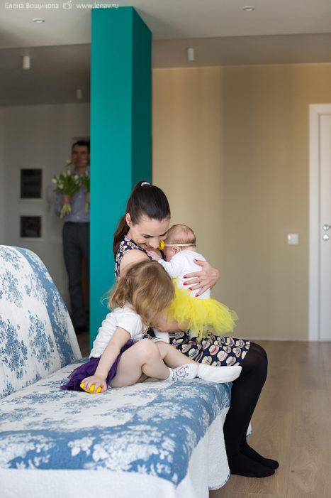 первый год малыша фотосессия дома лучший семейный фотограф в нижнем новгороде