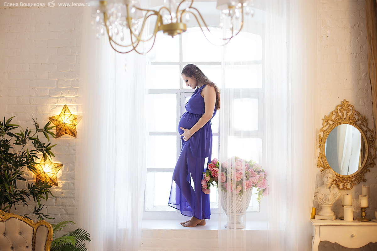 фотосессия в ожидании малыша съёмка в фотостудии