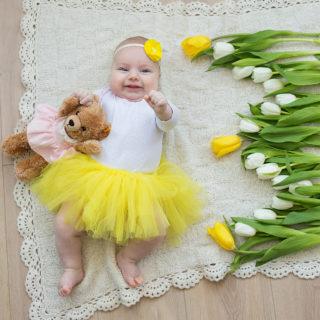 """Фотопроект """"Первый год малыша"""""""