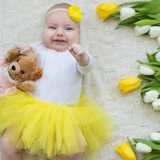 """Первый год малыша"": Арише 3 месяца"
