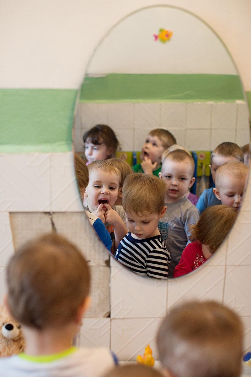 съёмка жизни в детском саду репортаж