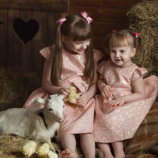 фотосессия с животными для детей фотограф семейный детский