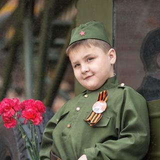 съёмка детей к дню победы 9 мая в нижнем новгороде фотограф