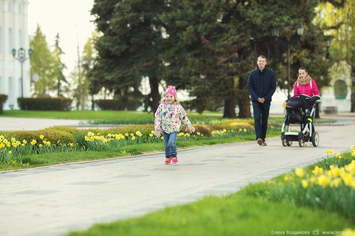 фотосессия весна лето семья с детьми фотограф