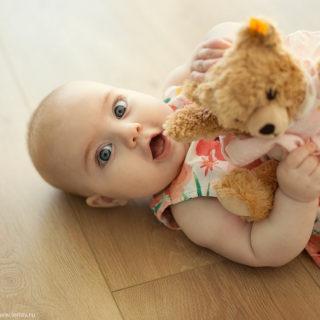 первый год малыша детский фотограф в нижнем новгороде