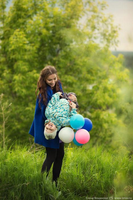 детский день рождения фотосессия дома и на природе