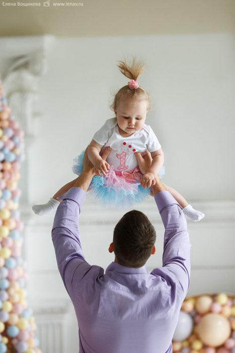 фотосессия на годик детский фотограф
