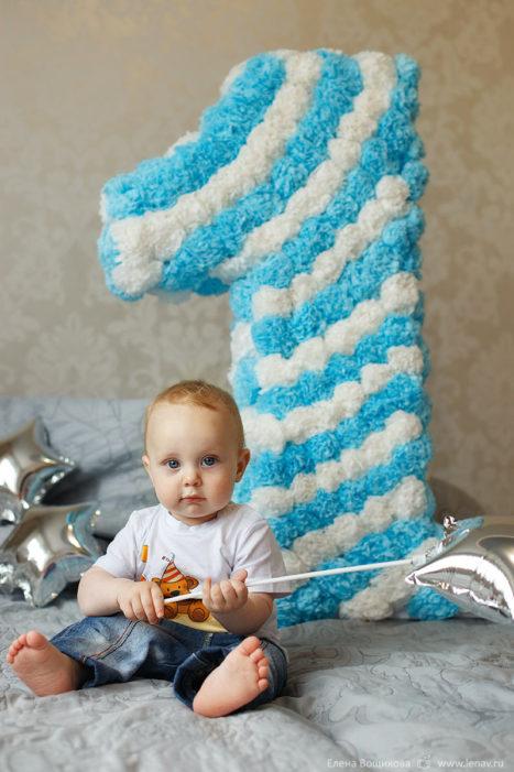 домашняя съёмка на день рождения ребенка фотограф