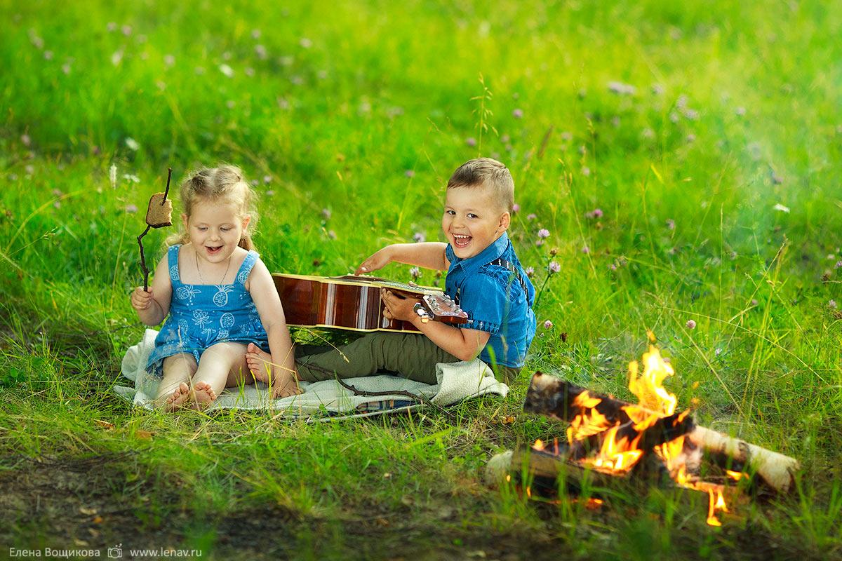 детская фотосессия на природе фотограф нижний новгород