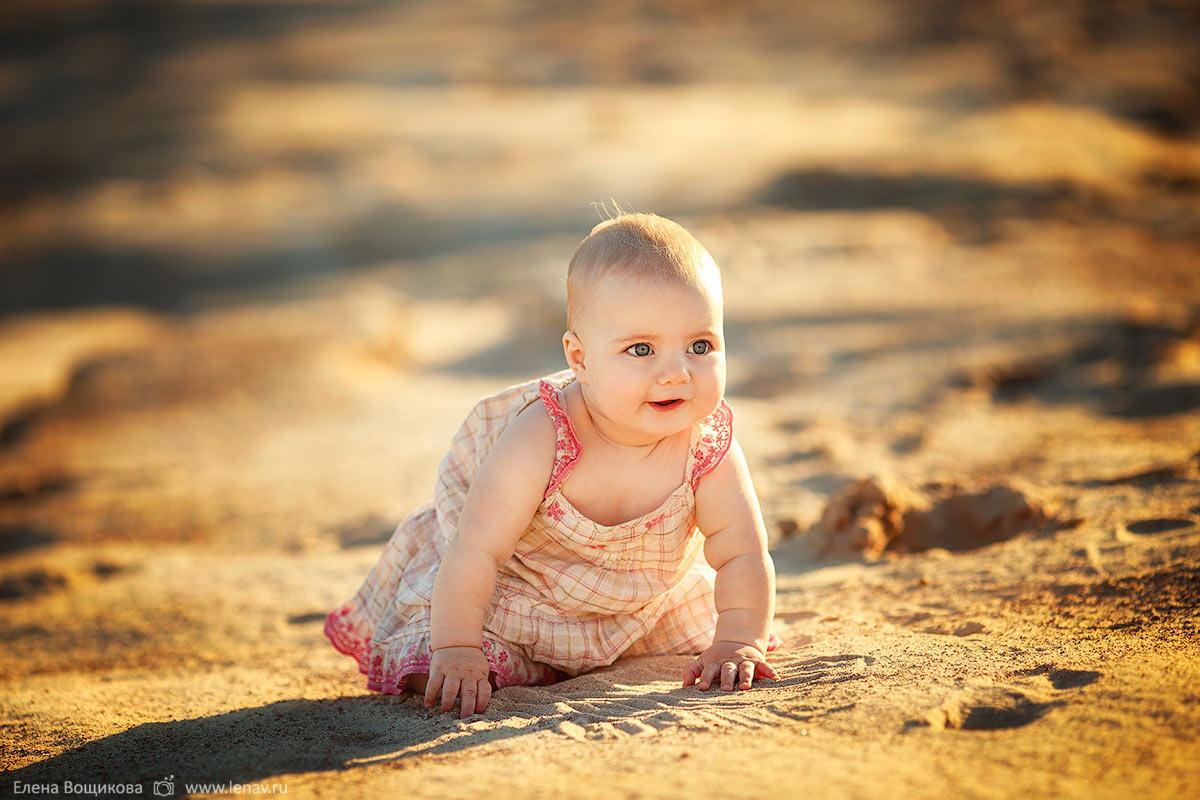 съёмка на первый год малыша