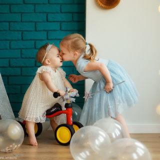 первый год малышка 1 годик фотосессия