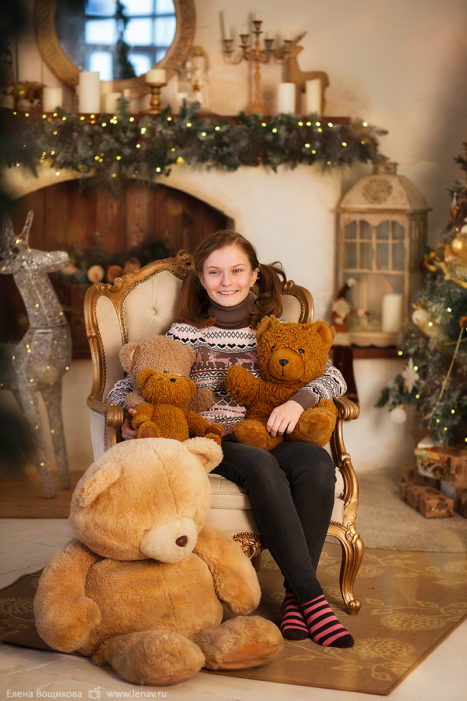 детский фотограф фотосессия в студии на день рождения