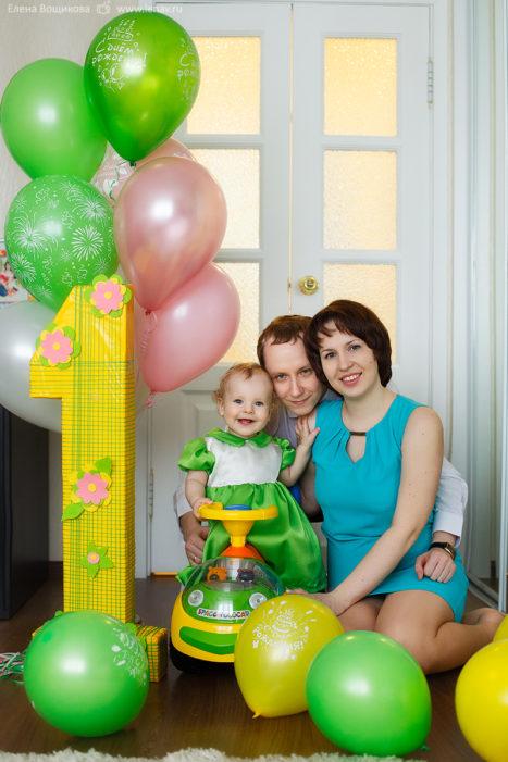 фотосессия на годик для девочки детский фотограф