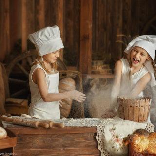 фотопроект поварята пекари для детей нижний новгород детский фотограф