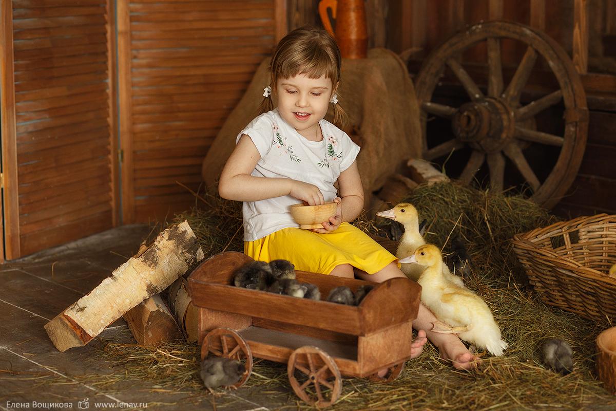 фотосессия детей с животными детский фотограф нижний новгород