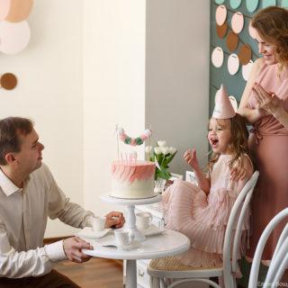 фотосессия на день рождения ребенка дома и на природе детский фотограф