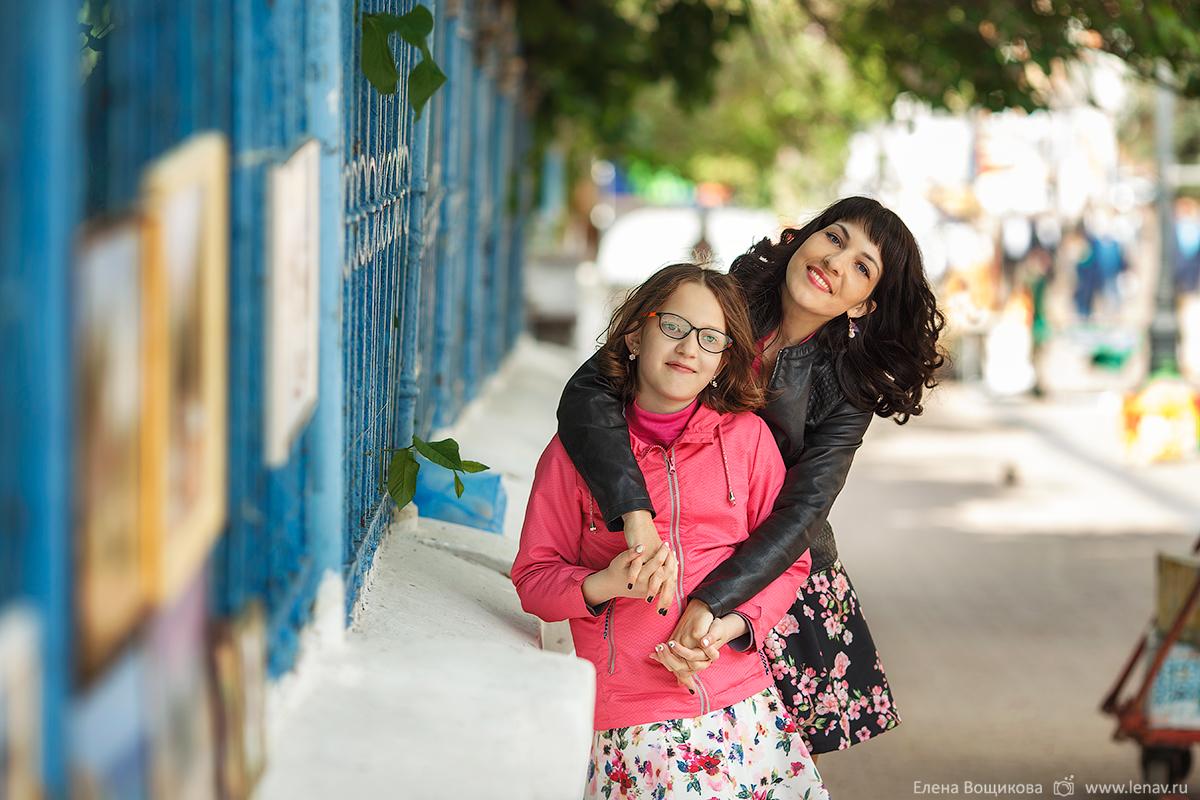 фотосессия в городе прогулка семейный фотограф