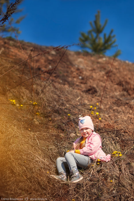 фотосессия на природе весенняя фотограф