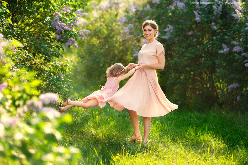 летняя семейная фотосессия на природе фотограф нижний новгород