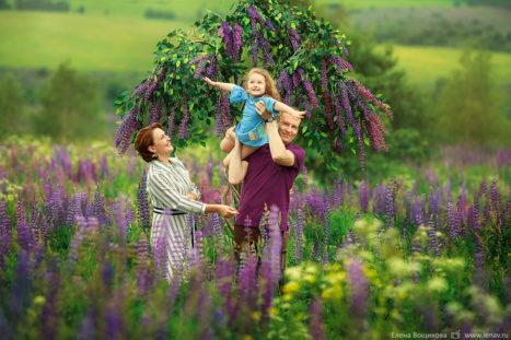 семейная фотосессия в нижнем новгороде на природе в люпинах летняя фотосессия фотограф