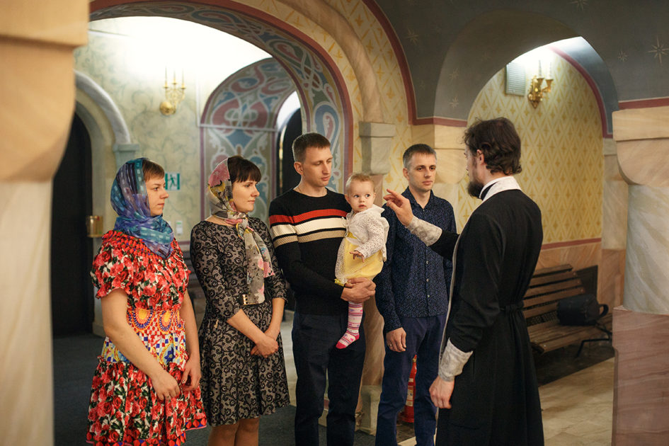 фотосъёмка крещения в нижнем новгороде и области