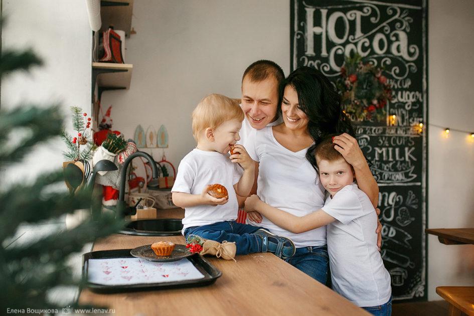 новогодняя фотосессия в фотостудии нижний новгород