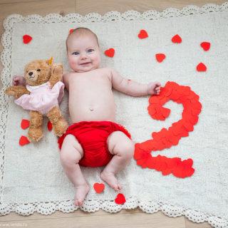 первый год малыша 2 месяца