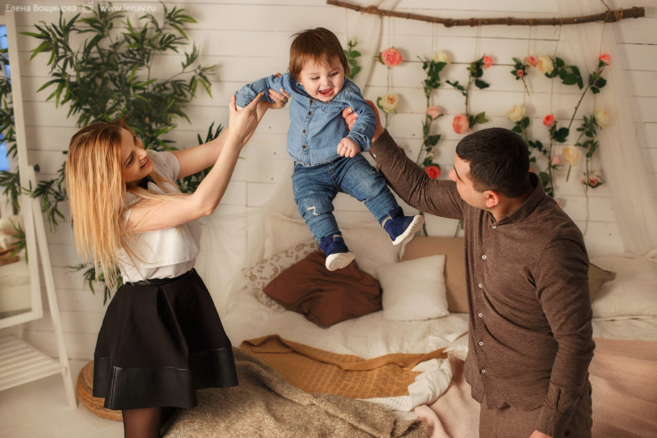 фотограф на годик ребенка фотосессия в нижнем новгороде