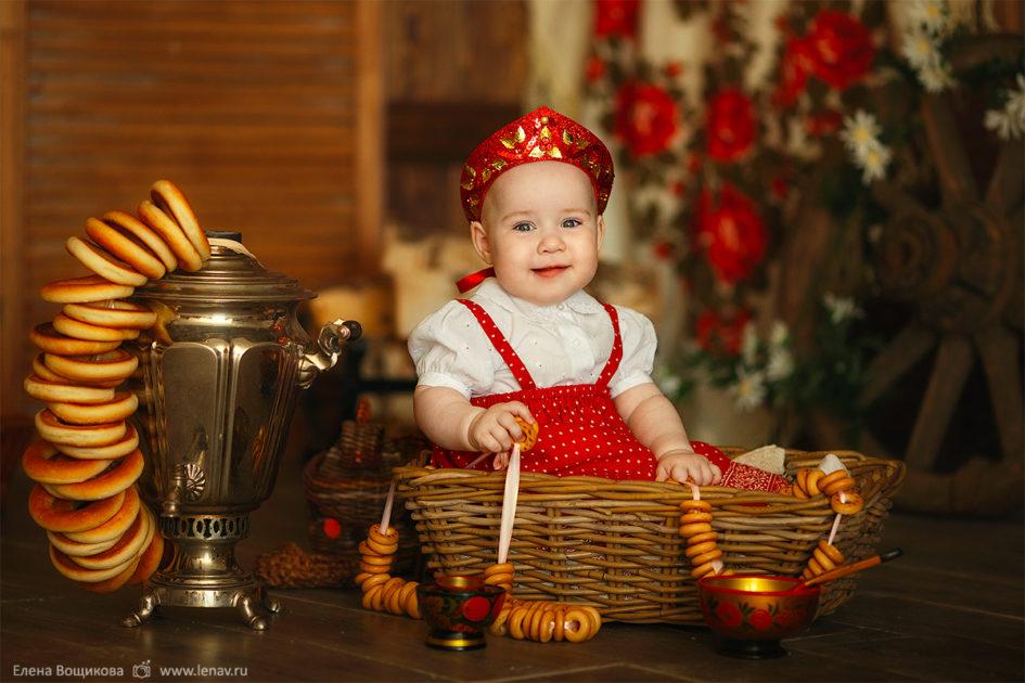 фотосессия на годик ребенка детский фотограф