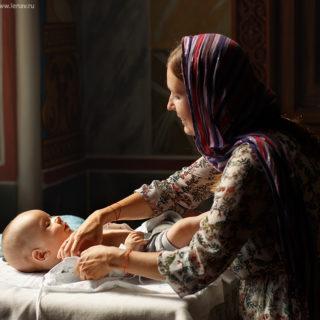 фотосъёмка крещениея фотограф в нижнем новгороде