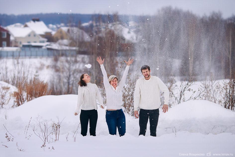 семейная фотосессия дома нижний новгород кстово