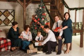 скидка на новогоднюю фотосессию фотокнига в подарок